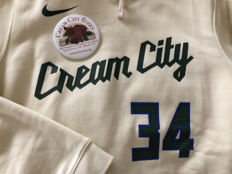 Milwaukee Bucks and the American Rose Society have Cream City in common.